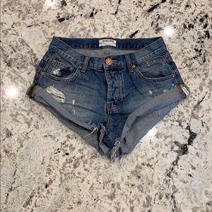 One Teaspoon Shorts - One Teaspoon Bandits Shorts